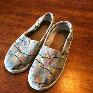 Christmas lights Toms 12.5 Y glow in the dark